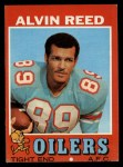 1971 Topps #169  Alvin Reed  Front Thumbnail