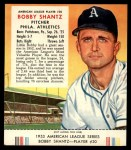 1953 Red Man #20 AL Bobby Shantz  Front Thumbnail
