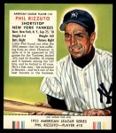 1953 Red Man #10 AL Phil Rizzuto  Front Thumbnail