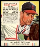 1953 Red Man #24 NL Gerry Staley  Front Thumbnail