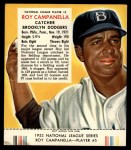 1953 Red Man #5 NL Roy Campanella  Front Thumbnail