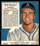 1953 Red Man #13 AL Gus Zernial  Front Thumbnail