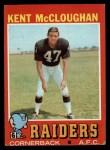 1971 Topps #137  Kent McCloughan  Front Thumbnail