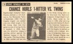 1964 Topps Giants #16  Dean Chance   Back Thumbnail