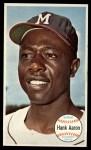 1964 Topps Giants #49  Hank Aaron   Front Thumbnail