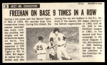 1964 Topps Giants #30  Bill Freehan   Back Thumbnail