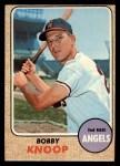 1968 Topps #271  Bobby Knoop  Front Thumbnail