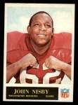 1965 Philadelphia #192  John Nisby   Front Thumbnail