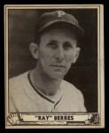 1940 Play Ball #164  Ray Berres  Front Thumbnail