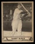 1940 Play Ball #14  Rabbit McNair  Front Thumbnail