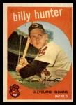 1959 Topps #11  Billy Hunter  Front Thumbnail