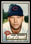 1952 Topps #176 CRM Hank Edwards  Front Thumbnail