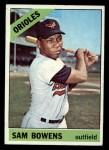 1966 Topps #412  Sam Bowens  Front Thumbnail