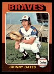 1975 Topps Mini #319  Johnny Oates  Front Thumbnail