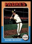 1975 Topps Mini #484  Glenn Beckert  Front Thumbnail