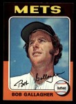 1975 Topps Mini #406  Bob Gallagher  Front Thumbnail