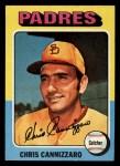 1975 Topps Mini #355  Chris Cannizzaro  Front Thumbnail