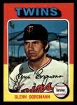 1975 Topps Mini #127  Glenn Borgmann  Front Thumbnail