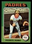 1975 Topps Mini #274  Vincente Romo  Front Thumbnail