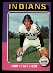 1975 Topps Mini #424  John Lowenstein  Front Thumbnail