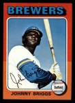 1975 Topps Mini #123  Johnny Briggs  Front Thumbnail