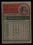 1975 Topps Mini #655  Rico Carty  Back Thumbnail