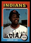 1975 Topps Mini #506  Leron Lee  Front Thumbnail