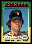 1975 Topps Mini #401  Mike Wallace  Front Thumbnail