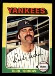 1975 Topps Mini #241  Dick Tidrow  Front Thumbnail