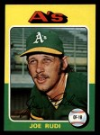 1975 Topps Mini #45  Joe Rudi  Front Thumbnail