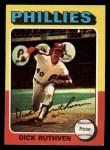 1975 Topps Mini #267  Dick Ruthven  Front Thumbnail