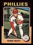 1975 Topps Mini #374  Eddie Watt  Front Thumbnail