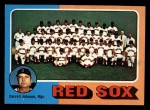 1975 Topps Mini #172   -  Darrell Johnson Red Sox Team Checklist Front Thumbnail