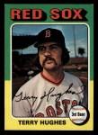 1975 Topps Mini #612  Terry Hughes  Front Thumbnail