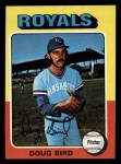 1975 Topps Mini #364  Doug Bird  Front Thumbnail