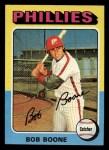 1975 Topps Mini #351  Bob Boone  Front Thumbnail