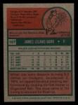 1975 Topps Mini #107  Jim Barr  Back Thumbnail