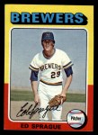 1975 Topps Mini #76  Ed Sprague  Front Thumbnail