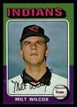 1975 Topps Mini #14  Milt Wilcox  Front Thumbnail
