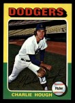 1975 Topps Mini #71  Charlie Hough  Front Thumbnail