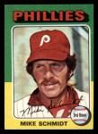 1975 Topps Mini #70  Mike Schmidt  Front Thumbnail