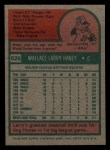 1975 Topps Mini #626  Larry Haney  Back Thumbnail