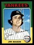 1975 Topps Mini #136  Jim Mason  Front Thumbnail