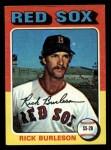 1975 Topps Mini #302  Rick Burleson  Front Thumbnail