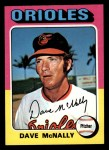 1975 Topps Mini #26  Dave McNally  Front Thumbnail