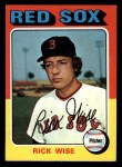 1975 Topps Mini #56  Rick Wise  Front Thumbnail