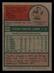 1975 Topps Mini #404  Ted Sizemore  Back Thumbnail