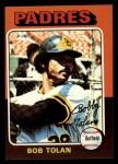 1975 Topps Mini #402  Bobby Tolan  Front Thumbnail