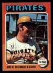 1975 Topps Mini #409  Bob Robertson  Front Thumbnail