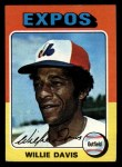 1975 Topps Mini #10  Willie Davis  Front Thumbnail